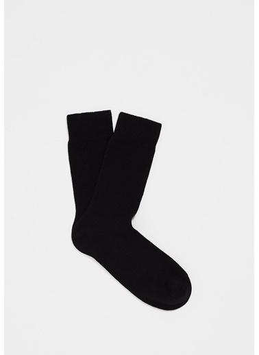 Mavi 09115920933 Uzun Soket Çorap Siyah